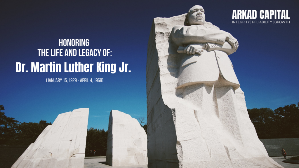 Dr Martin Luther King Jr Day of Service 2021 - Arkad Capital