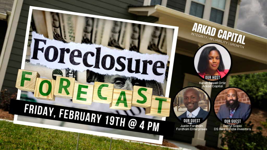 Foreclosure Forecast 2021 | Real Estate Talk with Keren Ortiz of Arkad Capital
